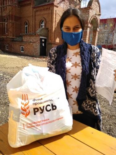 Епархия подружилась с «Русью». В Магнитогорске раздали благотворительную помощь по храмам