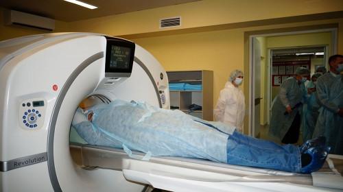 Новый уровень диагностических исследований. В медсанчасти запустили в работу суперсовременный компьютерный томограф