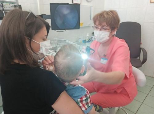 Лор-комбайн для самых маленьких. Магнитогорская детская поликлиника получила уникальное оборудование