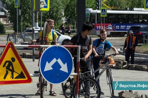 Без трещин и волн. На улице Бориса Ручьёва в рамках нацпроекта БКАД завершают дорожный ремонт