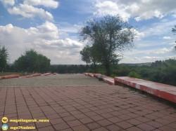 Гарантийный ремонт. В Магнитогорске реставрируют фонтан и ступени около ДК им. С. Орджоникидзе