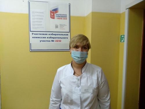 Без отрыва от места. Сотрудники и пациенты медсанчасти голосуют в стационаре