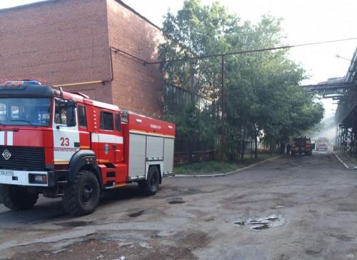 Горело знатно. В Магнитогорске в компании, производящей деревянные поддоны, произошёл пожар