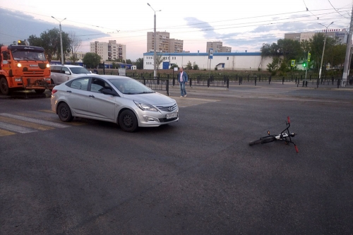 Перелом, ссадины, ушибы. В Магнитогорске произошло два ДТП, в которых пострадали велосипедисты