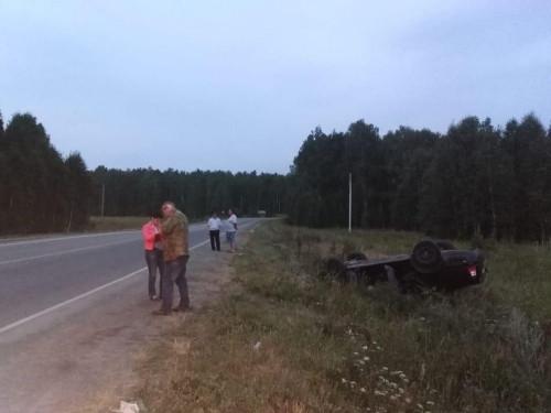 На трассе под Магнитогорском перевернулась иномарка. Погибла 6-летняя девочка, а на водителе – ни царапины