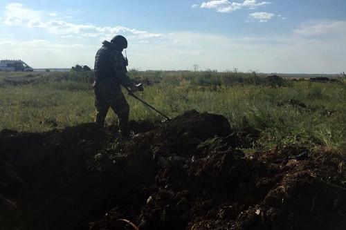 Никто не пострадал. Группа разминирования из Магнитогорска уничтожила 35 кг противотанковых мин