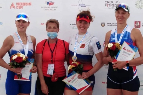 Золотой одиночный зачёт. Магнитогорская гребчиха стала первой на Большой Московской регате