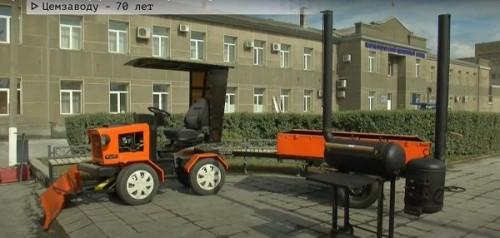 Очень умеют. Сотрудники цемзавода соревновались в изготовлении игрушек, трактора и мангала