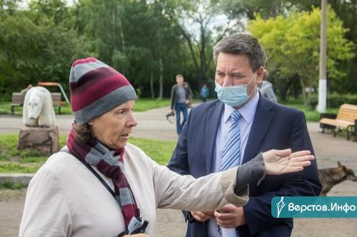 Чиновники рассказали, как может обновиться сквер Трёх поколений. На это потребуется около 85 миллионов рублей