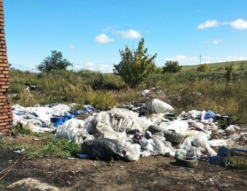 «Жители и организации сюда караваном едут». Магнитогорцы обнаружили озеро мазута и горы мусора на 12-м участке