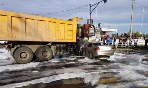 Погибли двое взрослых и ребёнок. В Магнитогорске произошло смертельное ДТП