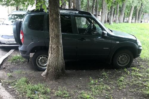 Заплатят до 5 тысяч рублей. В Ленинском районе 58 водителей оштрафовали за парковку на газонах