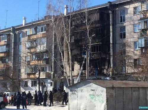 10 взрослых и двое детей. В Магнитогорске в огне погибли 12 человек
