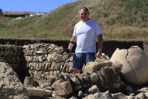 Крымский бешлык. Профессор МГТУ исследовал редкий артефакт из раскопок Фанагории