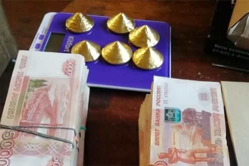 Изготовили кустарно. В Магнитогорске сотрудники ФСБ помешали сделке по продаже золотых слитков