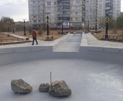 Затянули сроки. Сквер 50-летия Победы должны были сдать в конце августа