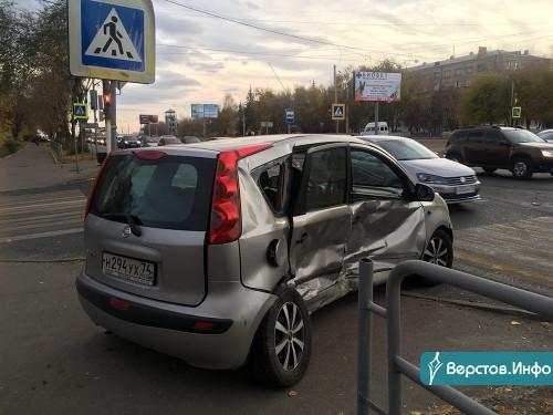 Аварийная пятница. В Магнитогорске в одном из ДТП пострадали два ребёнка