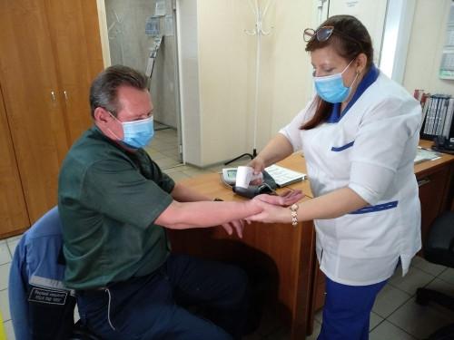 Большинство магнитогорских металлургов привьют от гриппа. Вакцинация проходит в здравпунктах