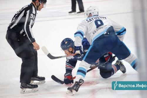 Плюс Ламмико и Меньшиков, но снова без победы. «Металлург» проиграл «Сибири»