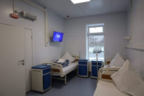 Построили в чистом поле. В Сосновском районе открылась областная инфекционная больница