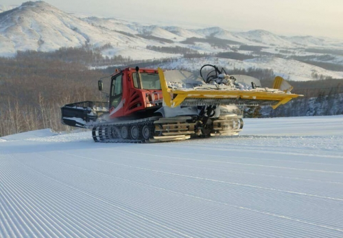 Работа кипит! На ГЛЦ «Металлург-Магнитогорск» готовятся к этапу Кубка мира по сноуборду