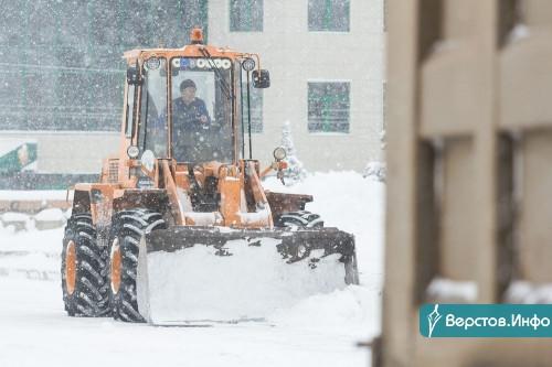 Магнитку опять засыпало! За сутки из города вывезли 13 тысяч тонн снега