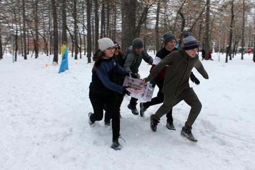За оборону спокойны! В Экопарке Магнитогорска школьники равнялись на отвагу и мужество