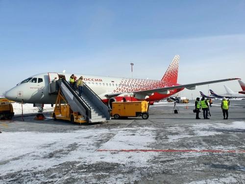 «Магнитогорск» будет летать в Астрахань. Самолёт авиакомпании «Россия» назвали в честь нашего города