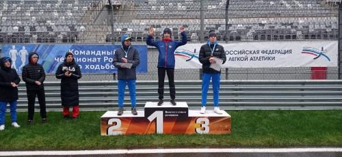 Золотой скороход! Магнитогорец Василий Мизинов стал чемпионом страны