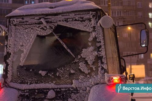 Снег, мороз и сильный ветер. На Южном Урале будет штормить два дня