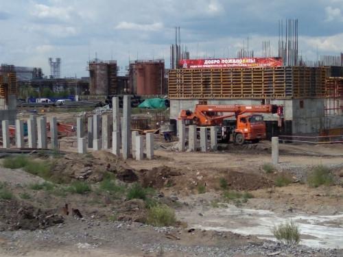 ММК продолжает строительство коксовой батареи № 12. Она даст экономический и экологический эффект